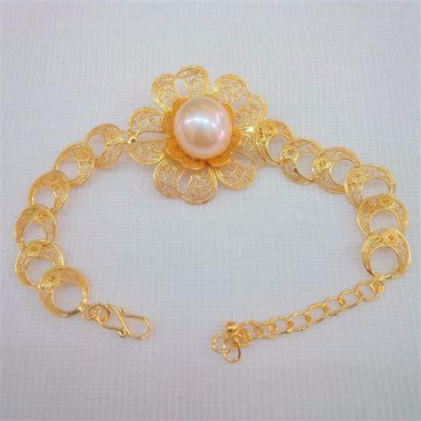 Gelang Emas Mutiara Air Tawar 21 gambar 85 model perhiasan emas hari desember 2017 kalung terbaru gambar di rebanas rebanas