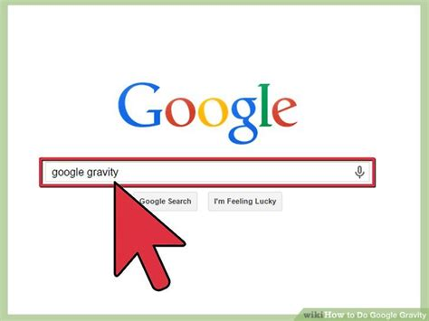 imagenes google gravity how to do google gravity 13 steps with pictures wikihow