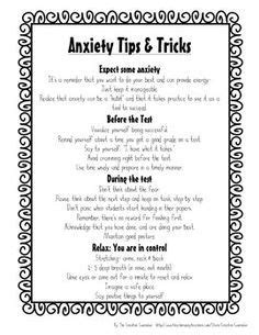 coping with anxiety worksheets school counselor test anxiety self assessment coping
