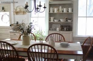 farmhouse dining room inspiration shady meadow cottage