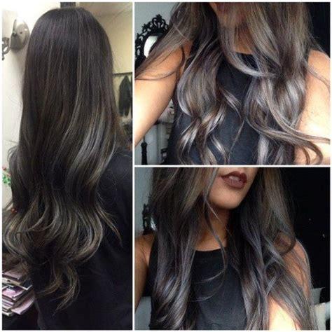 diy hair highlights for black hair diy hair 8 ways to rock gray hair bellatory