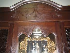 Second Display Cabinet Singapore Straits Peranakan Glass Display Cabinet Antique