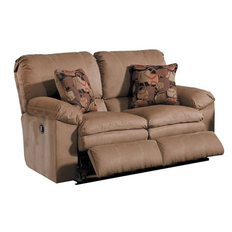recliner loveseats catnapper impulse reclining loveseat in cafe and espresso