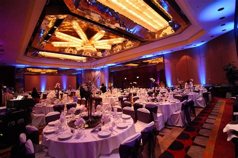 Led Uplights And Gobo For Wedding Reception At Dvinfo