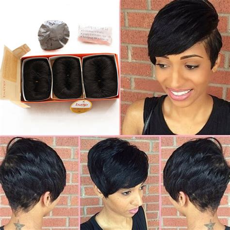 show mi styles of dior weave brazilian human short hair extensions 27 pieces short