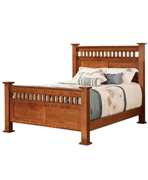 mission style beds mission style beds amish direct furniture