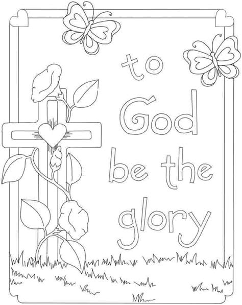 free christian coloring pages printable christian easter coloring pages color bros