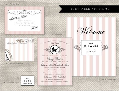 coco chanel wedding invitations 17 best images about coco chanel baby shower on