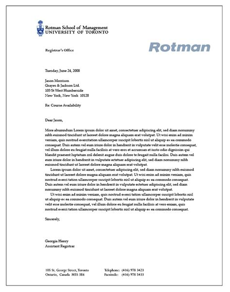 templates rotman school of management