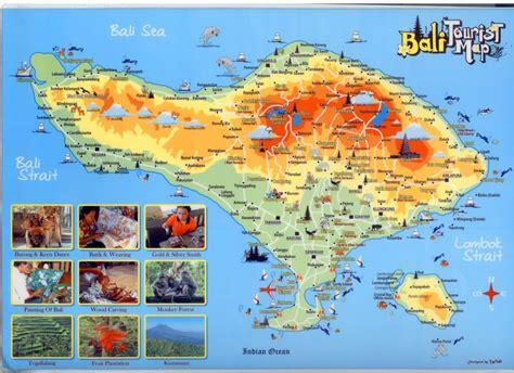 bali tourism board  bali bali map