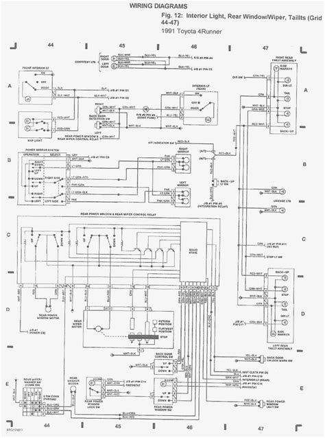toyota hilux wiring diagram pdf circuit and schematics