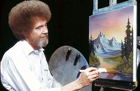 bob ross painting tv schedule four personal branding secrets from of painting s bob ross
