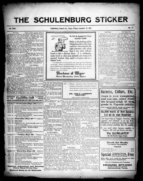 the schulenburg sticker schulenburg tex vol 33 no the schulenburg sticker schulenburg tex vol 23 no
