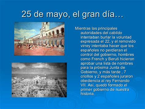 canciones alusiva al 25 de mayo revoluci 243 n de mayo antecedentes