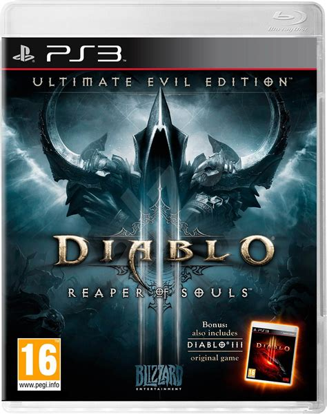diablo 3 console diablo iii ultimate edition evil ps3 console