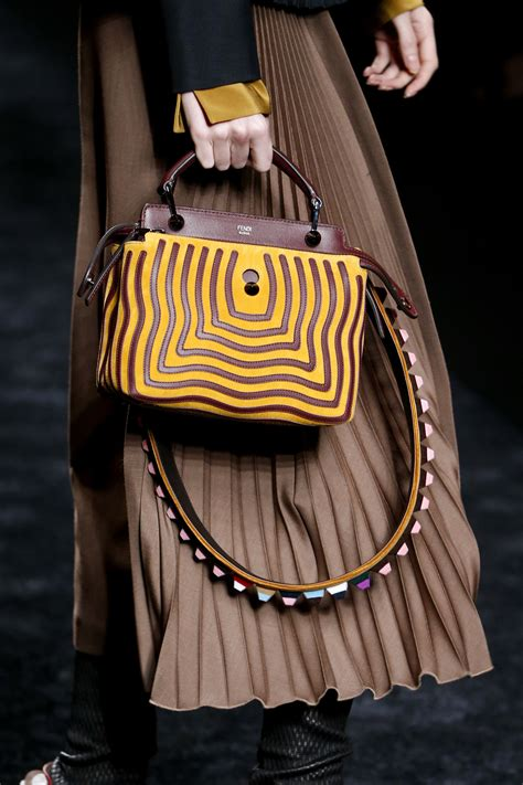 Fendi Fall 2007 Bags by Fendi Fall Winter 2016 Runway Bag Collection Spotted Fashion