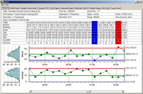 Xbar And R Chart Excel Template by Qcspcchartprodpage Quinn Curtis