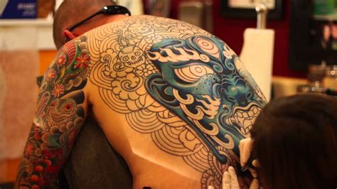 a back piece tattoo tattooed by darcy nutt youtube
