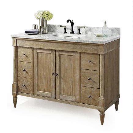 Rustic Chic Bathroom Vanity by Fairmont Designs Rustic Chic 48 Quot Vanity 142 V48 143 V48