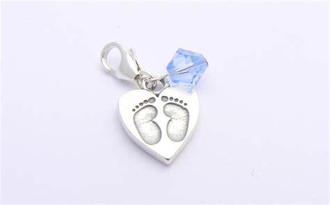 Boys Christening Gift   Sterling Silver Baby Feet Charm