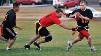 Flag Football Stay Active During Fall With Mwr Sports Discover