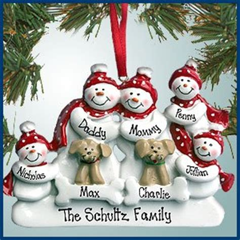 amazon com personalized christmas ornaments snowman