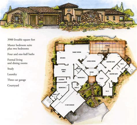 tuscan estates floor plan sienna model