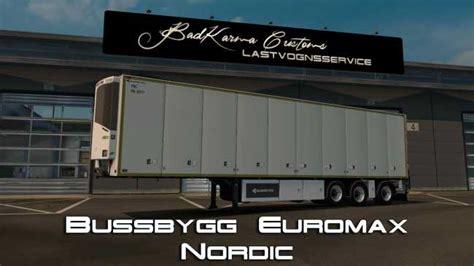 trailer euromax nordic   ets mods euro truck