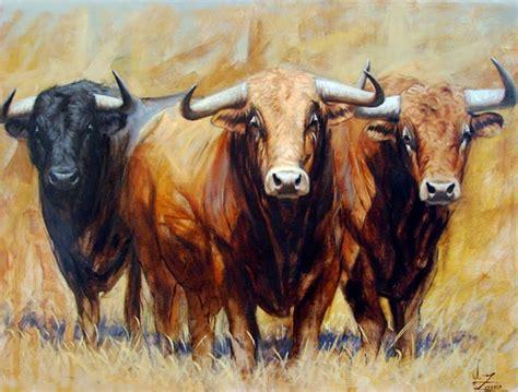 imagenes de toros wallpaper arte pinturas 211 leo pinturas toros lidia toros bravos 211 leo