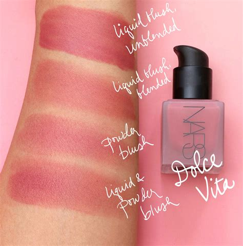 Golden Color Shades by Nars Liquid Blush I Have Buckets And Barrels Of Love For