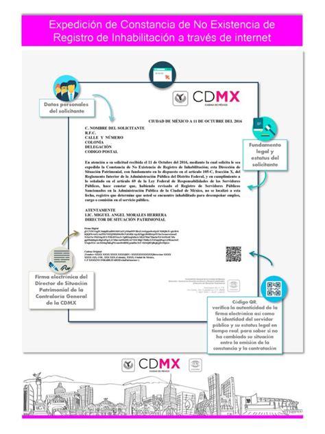 cdmx gob mx linea de captura pago de tenencia 2016 cdmx constancia de no existencia de registro de inhabilitaci 243 n