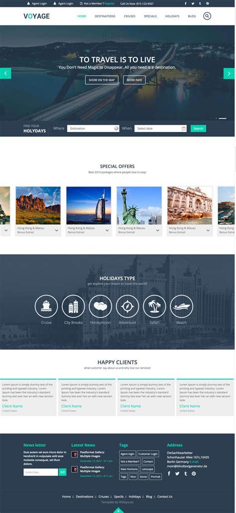 html5 travel templates 10 best free travel hotel html5 templates designmaz