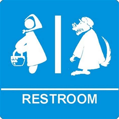 fun bathroom signs funny bathroom signs for fairy tales jedis and x men
