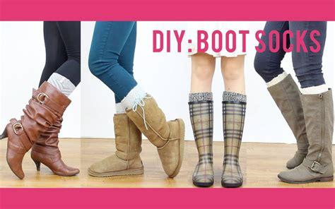 making boat legs diy tutorial boot socks miss louie youtube