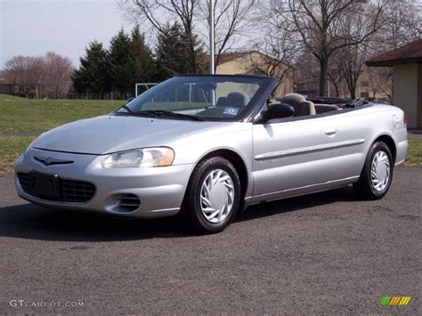 Chrysler Sebring 2001 Convertible by Bright Silver Metallic 2001 Chrysler Sebring Lx