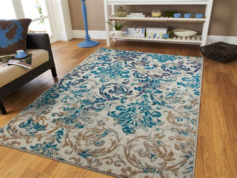 rugs room modern rugs blue gray area rug 8x10 living room carpet 5x8 chrysanthemum rugs 2x ebay