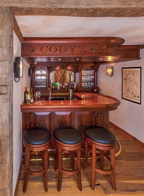 custom mahogany english style pub  ober woodworking