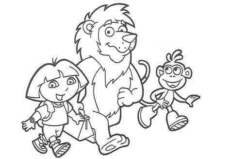 imagenes para pintar niños de dos años dibujos de dora para colorear y pintar 174 im 225 genes infantiles