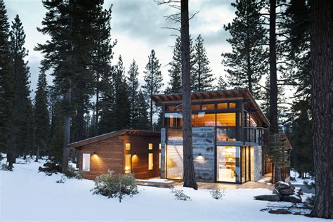 Sagemodern by Sagemodern Martis Camp Lake Tahoe Home Exterior Back