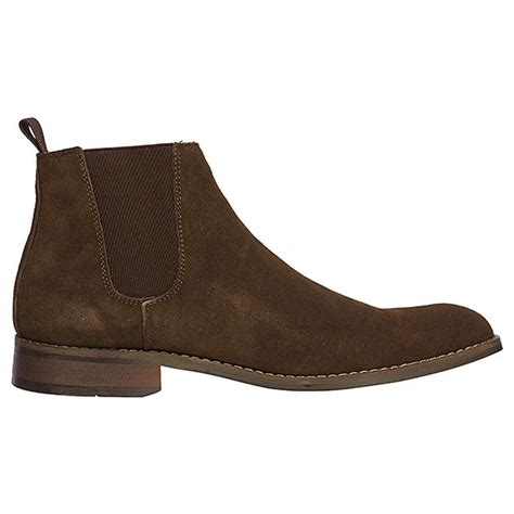 Handmade Mens Leather Boots - handmade mens brown ankle suede leather boots mens