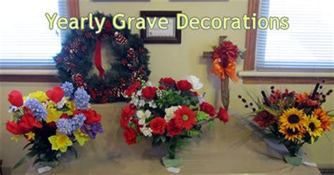 Gravesite Decorations Store by Grave Decorations Oak Knoll Memorial Park