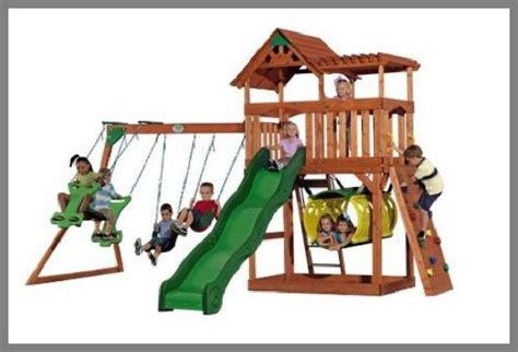 az swing kids cedar swing sets for kids whereibuyit com