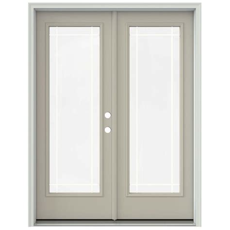 400 Series Frenchwood Hinged Patio Door by Andersen 60 In X 80 In 400 Series Frenchwood White