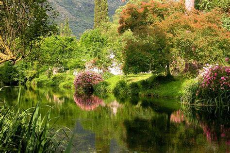 i giardini di ninfa giardini di ninfa siccit 224 prosciuga lago e fiume