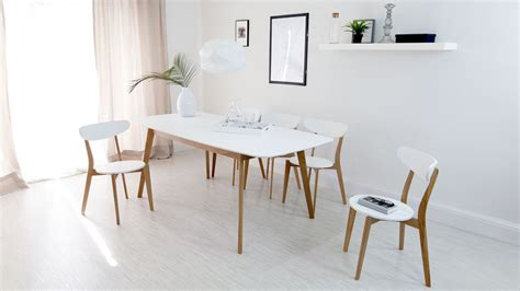 white chair dining set modern white and oak extending dining set dining chairs