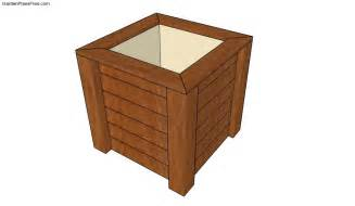 wooden planter plans free garden plans how to build