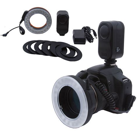 ring light for video camera bestlight 48 led rechargeable video camera macro ring