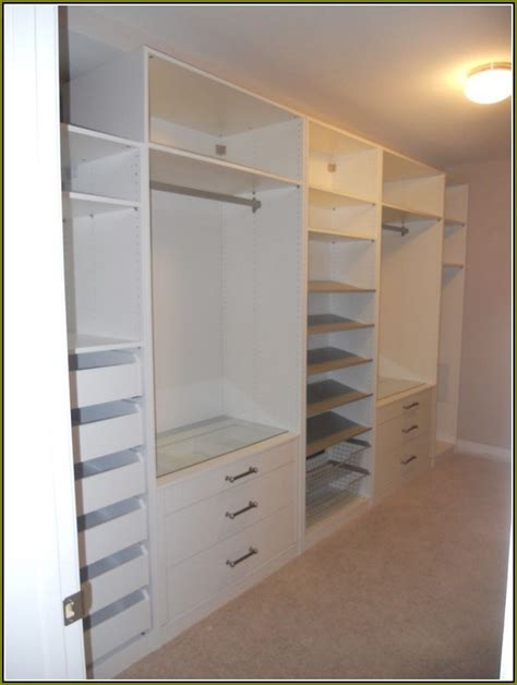 Closet Units by Built In Closet Systems Home Design Ideas