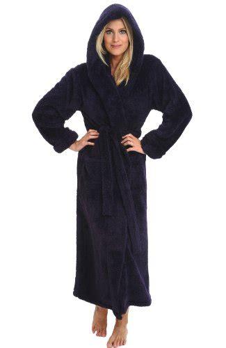 full length bathrobe del rossa women s plush microfiber fleece full length
