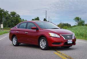 Nissan 2015 Sentra Review 2015 Nissan Sentra Sv Canadian Auto Review